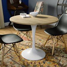 dining room serving tables wood and white metal leilani tulip dining table world market