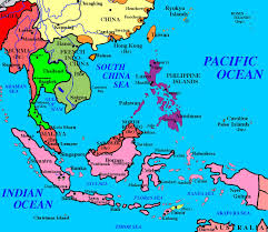 Physical Map Of East Asia by Outline Map Of Southeast Asia With Blank With Quiz