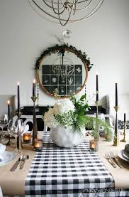 dining room table setting for christmas modern christmas table setting ideas christmas celebration all