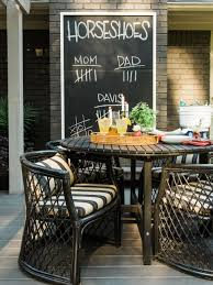 how to host a rustic fall backyard party hgtv