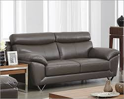 modern leather sofa in grey color esf8049s modern sofa colour