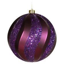 purple ornaments tree decorations target