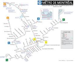 Montreal Metro Map La Construction Du Métro