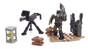 amazon com mega bloks halo unsc weapons pack ii toys u0026 games