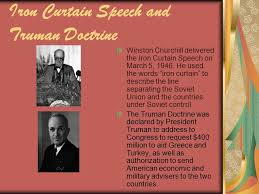 The Iron Curtain Speech The Cold War By Dana Duffett League Of Nations And Yalta