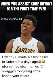 Kobe Rape Meme - when you assist kobe bryant for the first time ever nba memes 24