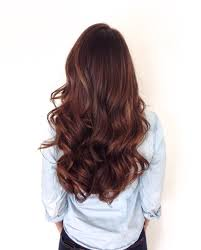 Warm Tone Hair Color Long Healthy Brunette With Soft Sombre Warm Brown And Golden