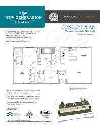 New England Homes Floor Plans New Generation Homes Custom Rtm Homes Home Floor Plans