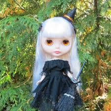 spider barrettes for blythe u0026 pullip dolls halloween brown eyed rose