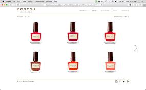 scotch naturals website redesign u2014 hannah kuisle