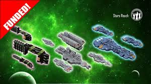 stars reach space ship miniatures by twilight game designs tj