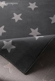 graue sterne trend teppich stern sterne grau 140 x 200 cm tn 10 neu kaufen