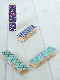 wooden clothespin crafts for father u0027s day or any occassion