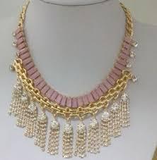 crystal design necklace images Elegant crystal tassel beaded necklace modern design necklace jpg