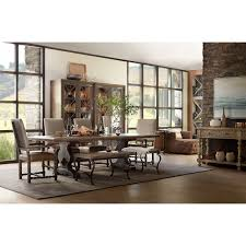 Wolf Furniture Outlet Altoona by Bandera 86in Table Trestle Table With 2 18in Leaves By Hooker