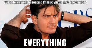 Magic Johnson Meme - charlie sheen hiv quickmeme