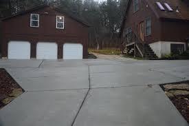 concrete driveway gallery midwest concrete u0026 construction