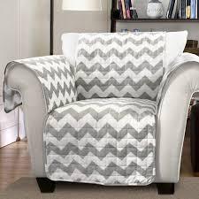 lush decor chevron box cushion armchair slipcover u0026 reviews wayfair