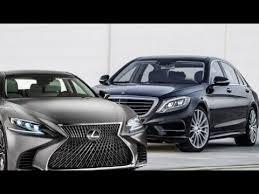 lexus better than mercedes 2018 lexus ls vs mercedes s class they car