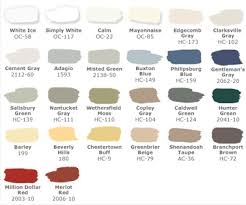 pottery barn paint colors for amy the