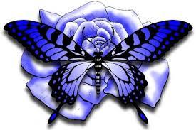 3d butterfly design from itattooz