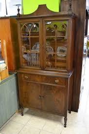 mahogany china cabinet furniture beautiful antique walnut 1930 s deco era china cabinet from hyde