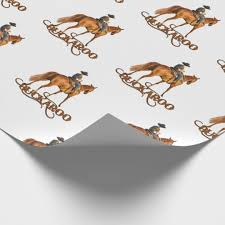 cowboy wrapping paper sunset wrapping paper zazzle co uk