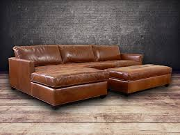 Brompton Leather Sofa Arizona Leather Sofa Centerfieldbar Com