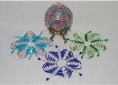 free beaded ornament pattern featured in sova
