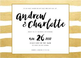 Bling Wedding Invitations Brush And Bling Real Foil Wedding Invitations
