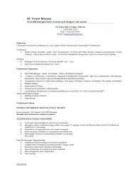 senior architect resume resume examples resume templates usa