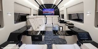 mercedes vito interior becker automotive design luxury transport coaches sprinter