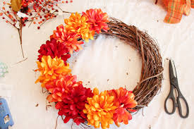 wreath supplies fall wreath time how to nest for less