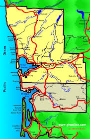 Pacific Northwest Map Grays Harbor County Maps In The Pacific Northwest Coastal Region