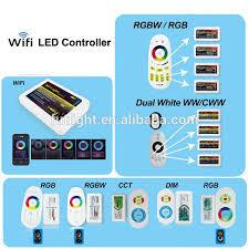 rgb led light controller mi light 2 4g rf 4 zone rgbw rgb w led strip light controller buy