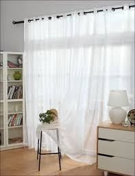 Cream Embroidered Curtains Furniture Magnificent 63 Inch White Sheer Curtains Black And