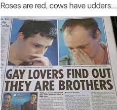 Gay Sex Memes - i saw this video it said have i been having sex with my brother