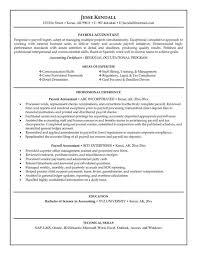 accounting resume samples free rimouskois job resumes