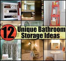 cool bathroom storage ideas 12 unique bathroom storage ideas for your home diy home