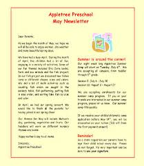 monthly newsletter template 9 free word pdf documents download