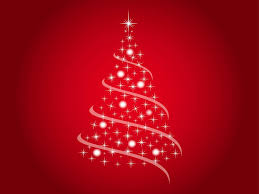 festive tree vector