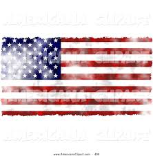 Americana Flags Americana Clip Art Of A Faded American Flag Background On White By