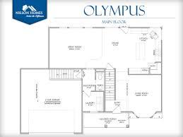 olympus floor plan rambler new home design nilson homes olympus main floor home design by nilson homes