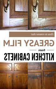 What Cleans Grease Off Kitchen Cabinets by Contemporary How To Clean Grease From Kitchen Cabinets The Off