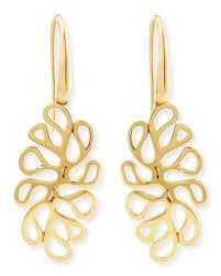 18k gold earrings 18k yellow gold earrings neiman