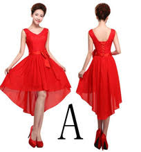 online get cheap high low prom dresses red aliexpress com