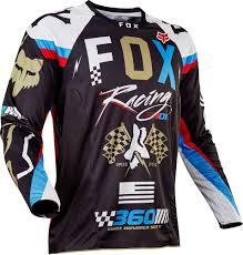 road bike jackets 2017 fox racing 360 rohr jersey mx motocross off road atv dirt