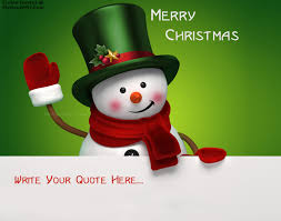 write quote on merry wishes picture