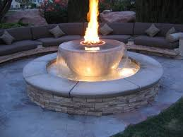 How To Build A Gas Firepit How To Build An Outdoor Gas Pit Diy Gas Pit