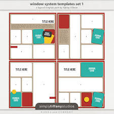 new window system collection one u2014 framed pocket style templates
